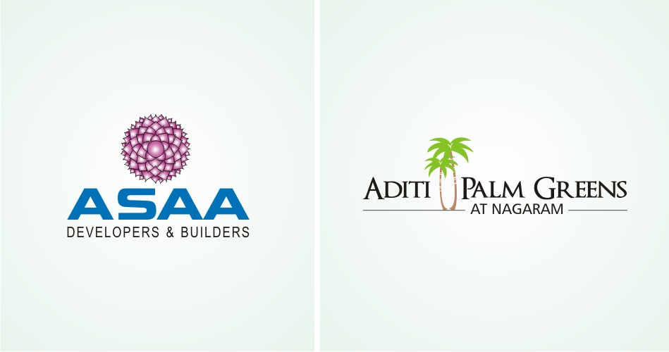 Real Estate Logo Design Hyderabad, Real Estate Logo Designer Hyderabad, Best Construction Logo design, Building & Construction Logo - www.idealdesigns.in - ASAA