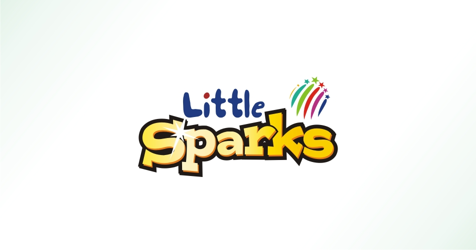 Educational Logo Design, Education And Schools Logo Design, Education Institutes Logo Design Hyderabad -Little Sparks - BMA - little sparks - Brain Mapping Academy - www.idealdesigns.in