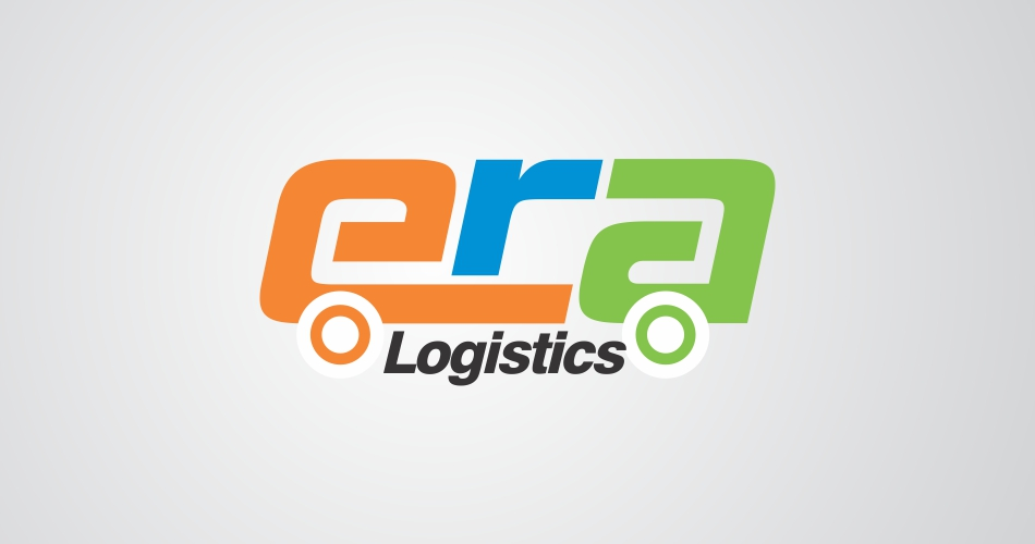 logistic logo design hyderabad, era logistics - www.idealdesigns.in - Logo Design Hyderabad, Vijayawada, Vizag, India