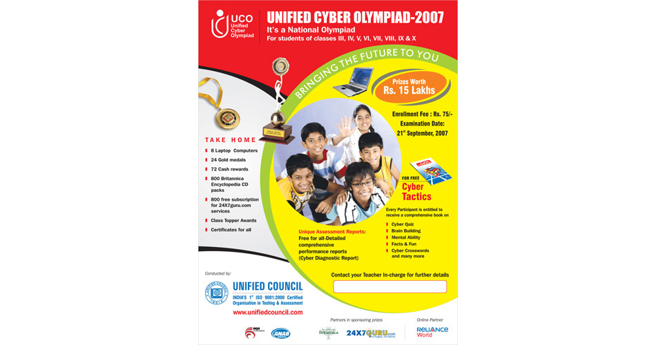 corporate school poster design hyderabad, Poster Design in Hyderabad, Exhibition Poster Designer - Exhibition Stall Designer, Posters Printing in Hyderabad - poster - uco - www.idealdesigns.in