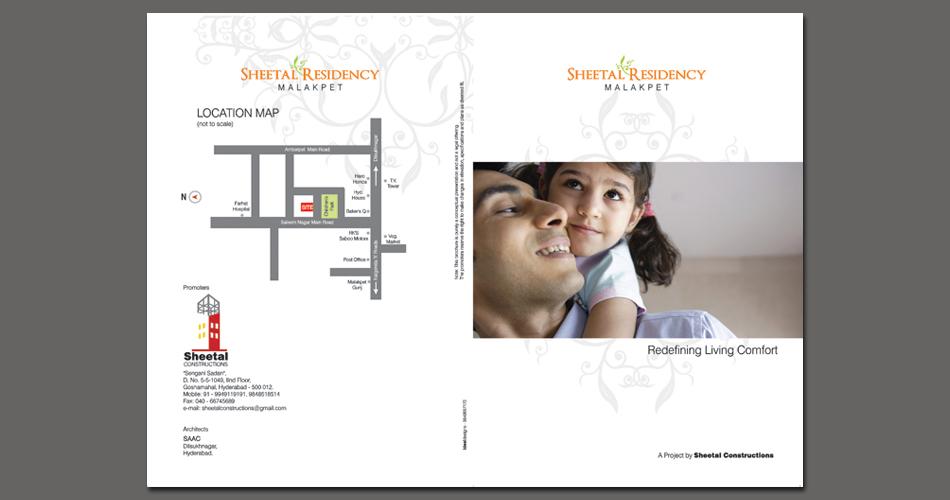 REAL ESTATE BROCHURE DESIGN HYDERABAD, REAL ESTATE LOGO DESIGN HYDERABAD, INDIA - www.idealdesigns.in