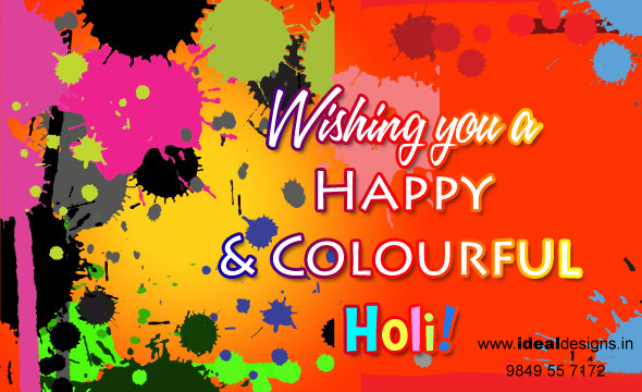 Logo Design Hyderabad Designer Happy Holi