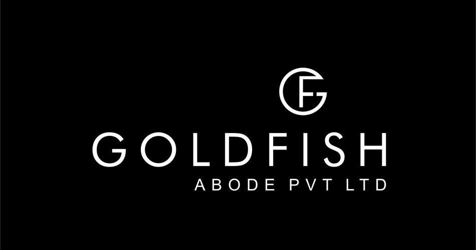 Infrastructure Company Logo Design Hyderabad, Construction Company -Gold fish - Abode Pvt. Ltd.