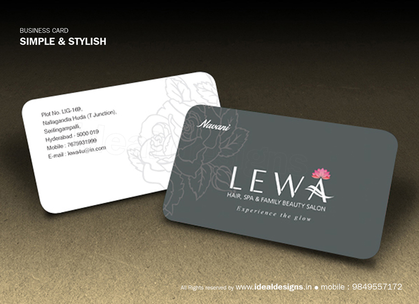 Stationery printing Hyderabad, Business card design & Printing Hyderabad