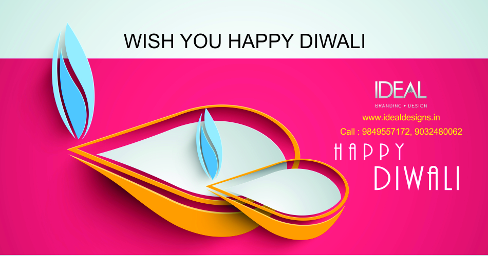 Happy diwali idealdesigns.in- logo design hyderabad, bangalore,india-Diwalinew