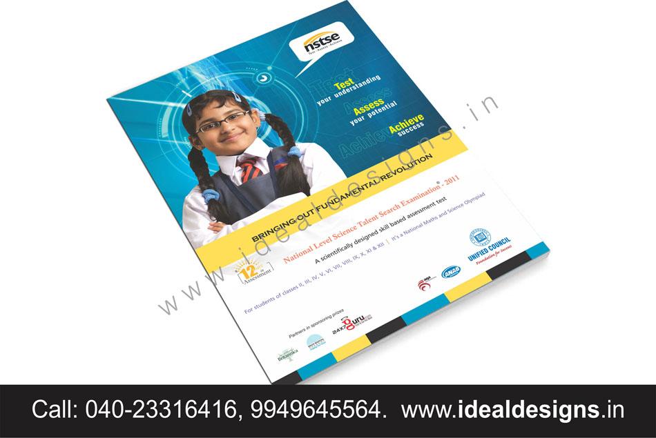 educational l brochure design hyderabad, india, corporate school brochure design, creative brochure design , play school brochure design - nstse