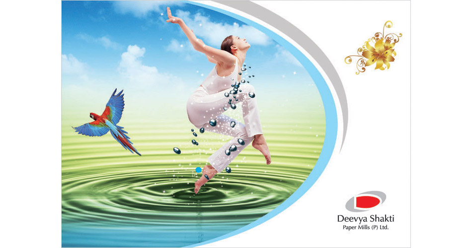 Corporate Flyer Design, Flyer Printing, Flyer Design Services, Bangalore, Hyderabad, India, Offset | Screen Printing in Hyderabad – Deevya Shakti-www.idealdesigns.in
