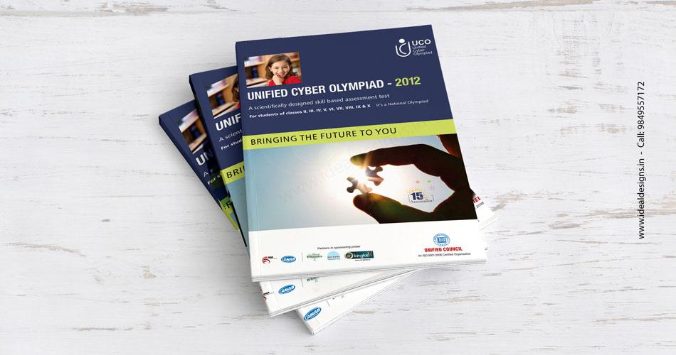 school brochure design hyderabad, india, olympiad books & Brochure design hyderabad, India