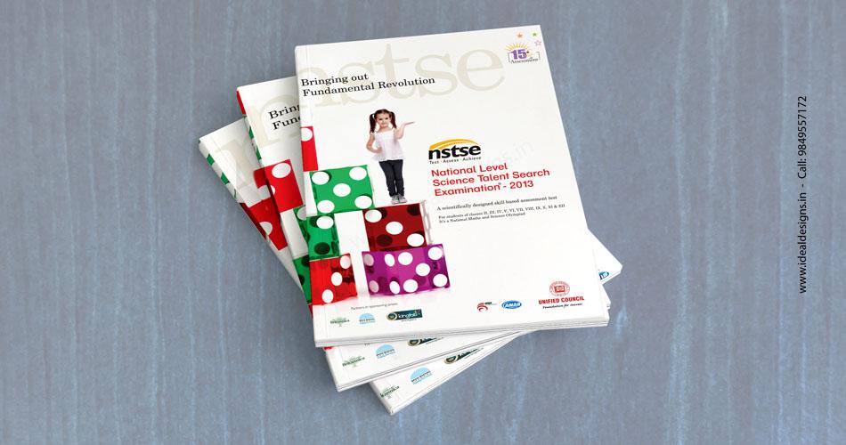 talent exam brochure design hyderabad, school books design india, olympiad books design brngaluru