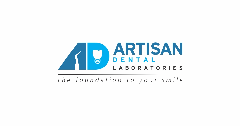 Dental-laboratories-logo-design-hyderabad-india-Artisan, Dental Brochure Design, Flyer Design Hyderabad, India, Dental laboratories logo design hyderabad, Dental services logo design hyderabad, india - Artisan - www.idealdesigns.in