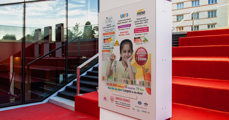 school hoarding design Hyderabad