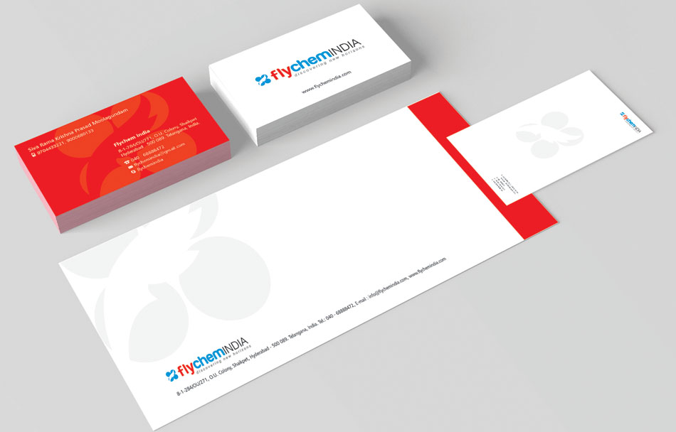 Graphic Design Hyderabad, Graphic Designer Hyderabad, Corporate Stationary Design India - Flychem - 9849557172, 9949645564 - www.idealdesigns.in