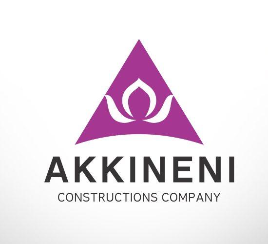 Infra company logo design, infra construction company logo design india, real estate logo design india - akkineni constructions - 9849557172, 9949645564