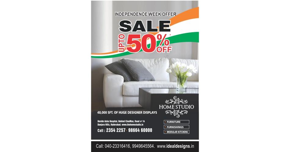 Furniture Showroom Poster Design, Poster And Flyer Design India, Graphic Design  Company In Hyderabad U2013 Homestudio