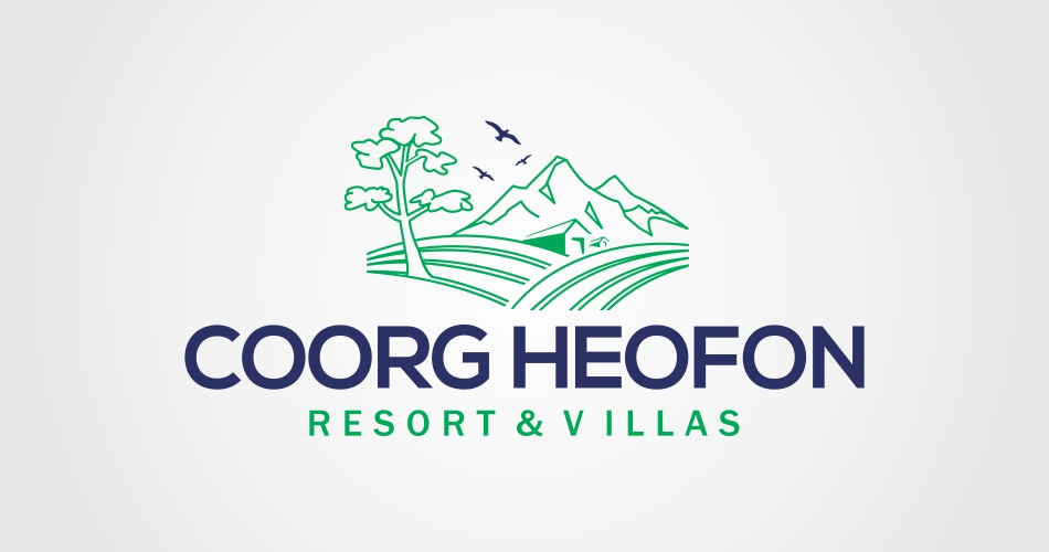 Resort Logo Design bangalore, india, holiday logo designs india, hotels & restaurants resorts logo design india- coorg