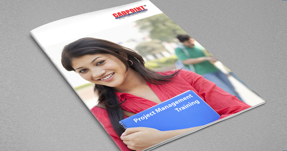 brochure design for training institute - brochures logo logo design logo designer identity