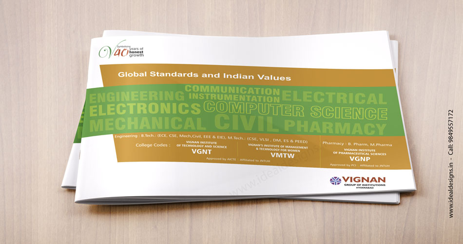 corporate brochure design hyderabad  india