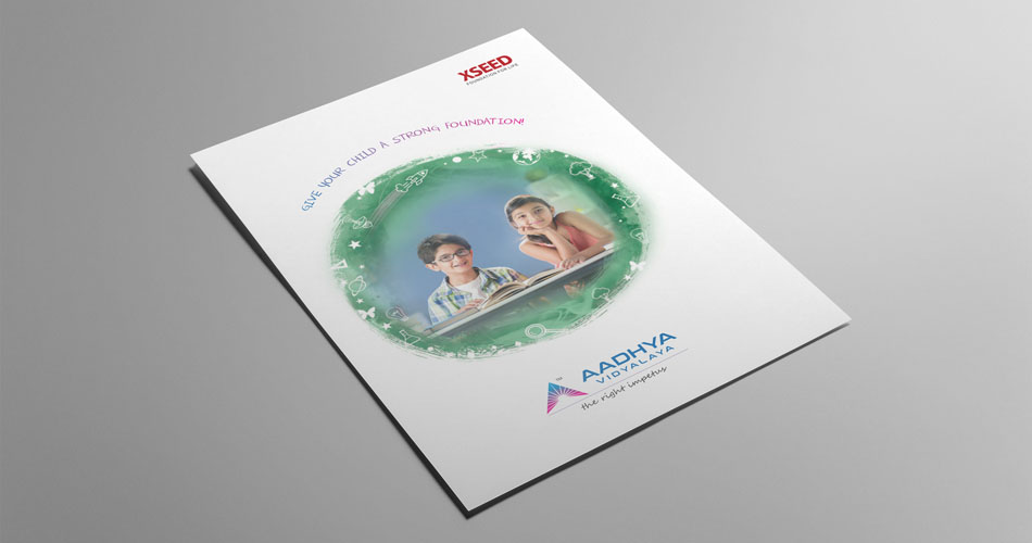 Flyer design hyderabad, school branding flyers design, leaflet design branding hyderabad, corporate branding