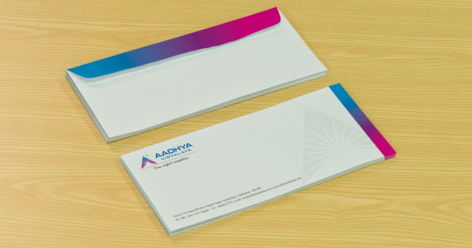school branding stationery design hyderabad, complete branding package hyderabad