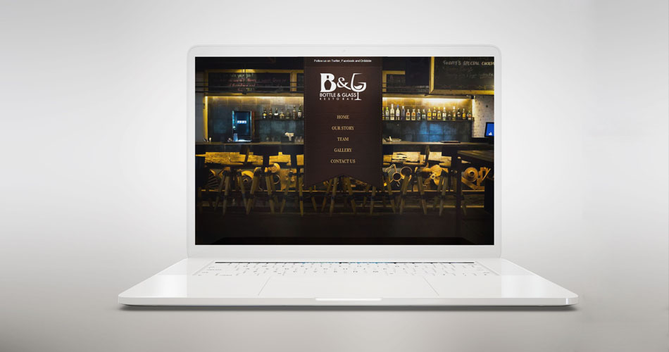 bar and restaurant website design, responsive website design hyderabad, top web designers hyderabad, the best web designers india