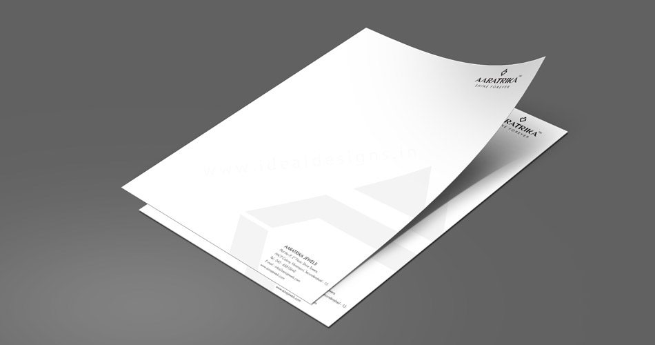 Mayor letterhead logo design