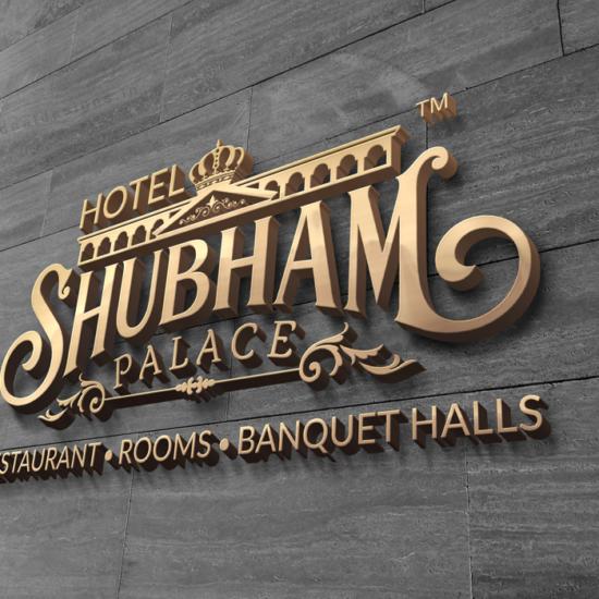 hotel-Shubham-palace-logo-branding-hyderabad