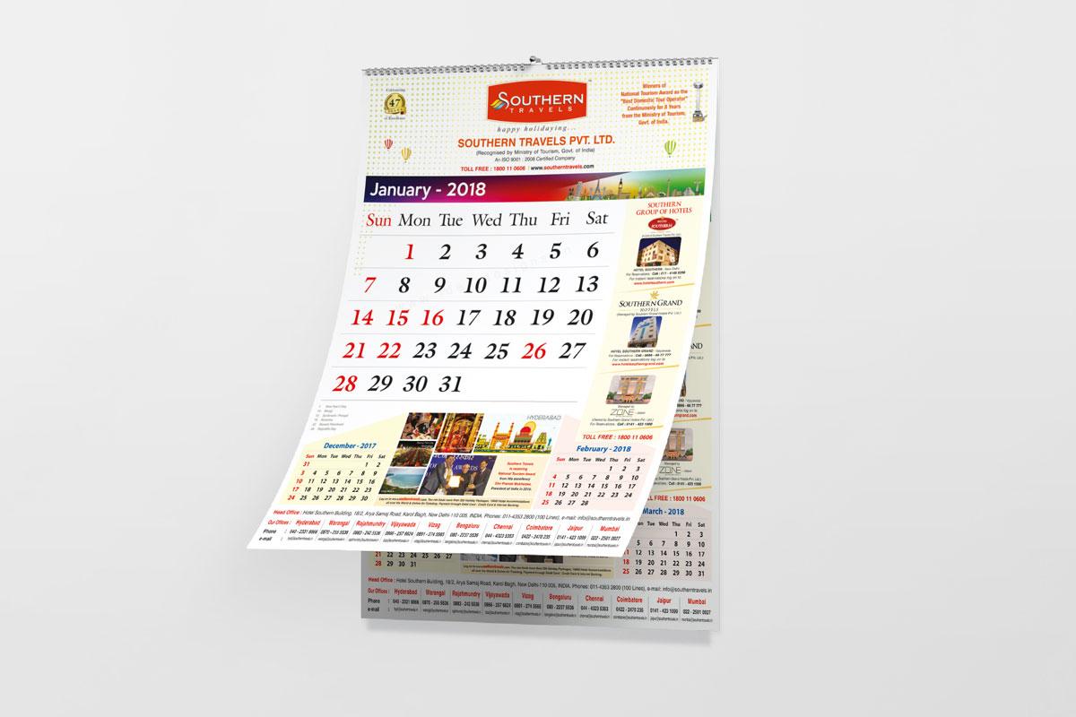 Wall Calendar Design Hyderabad, Table Top Calendars, Desk Calendars Design, Corporate Company Calendars, Gods Calendars Design, Travel Calendar Design, School Calendar Design
