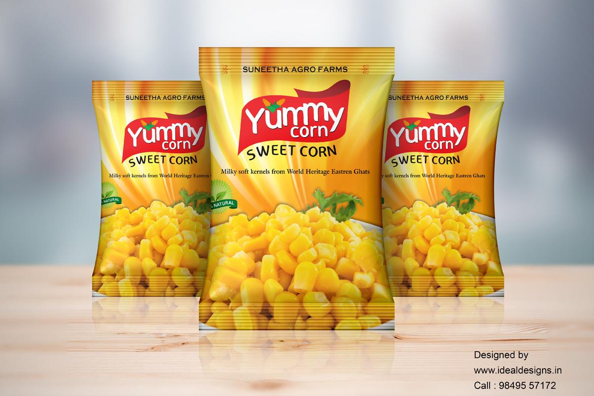 Brand India food, best Indian Food Branding, brand and packaging design, Top Food Brands in India, Advertising Agency India Digital Marketing Company, Food Packaging Supplies Online, Creative Advertising Agency In Hyderabad, corn1