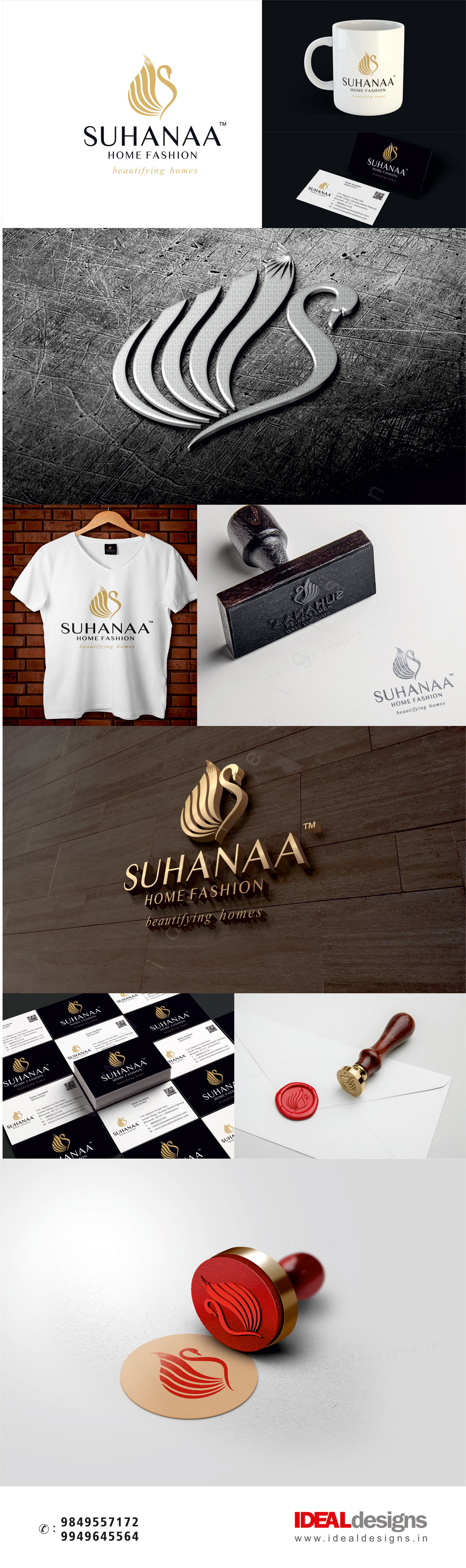suhana-furniture-and-furnishings-branding-india,-professional-designs-hyderabad,-corporate-style-branidng-hyderabad - suhana