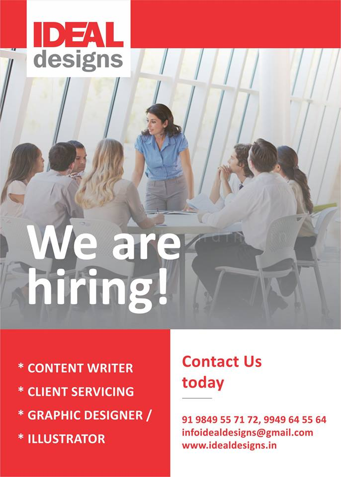 hiring graphic designers full time part time
