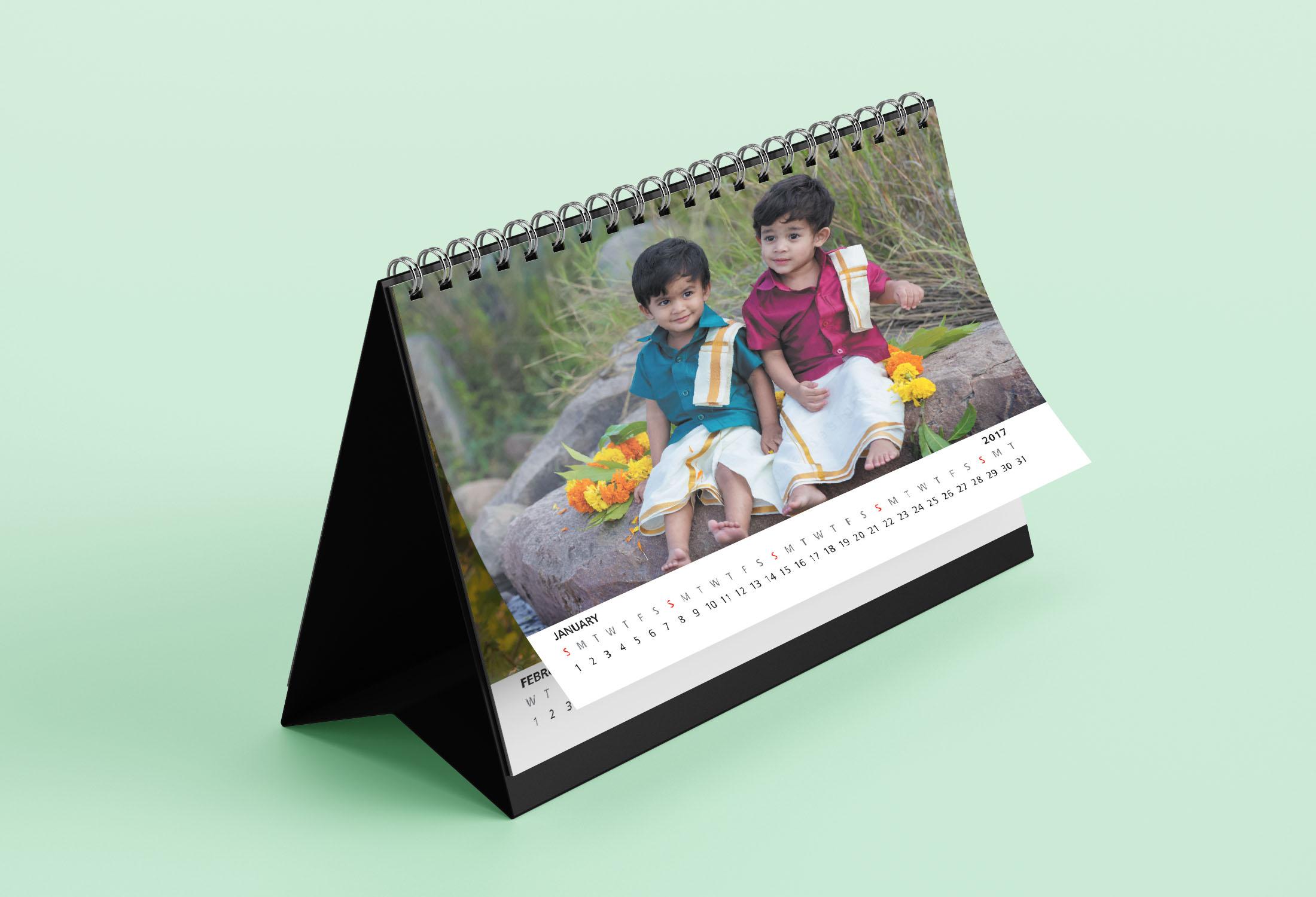 Calendar design hyderabad, Table calendar, wall calendar, new year calendar